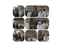 Danrem 061/Sk Terima Pesan Kusus dari Habib DR (HC) M. Lutfi Agar Tetap Perkokoh Persatuan Dan Kesatuan Bangsa
