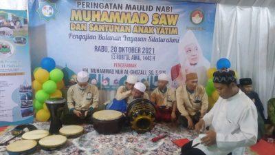 Yayasan Silahturahmi Gelar Acara Peringatan Maulid Nabi Muhammad SAW 1443.H dan Santunan Anak Yatin.